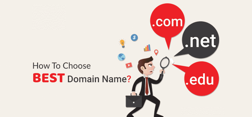 choose your domain and start to target audience through online